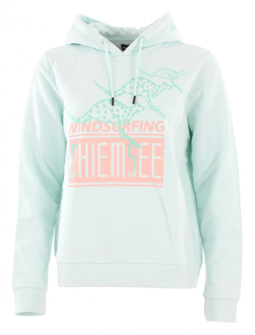 CHIEMSEE ANGEL FIRE Hoodie 2019 blue aqua - M
