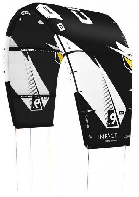CORE IMPACT Kite black/black - 7.0