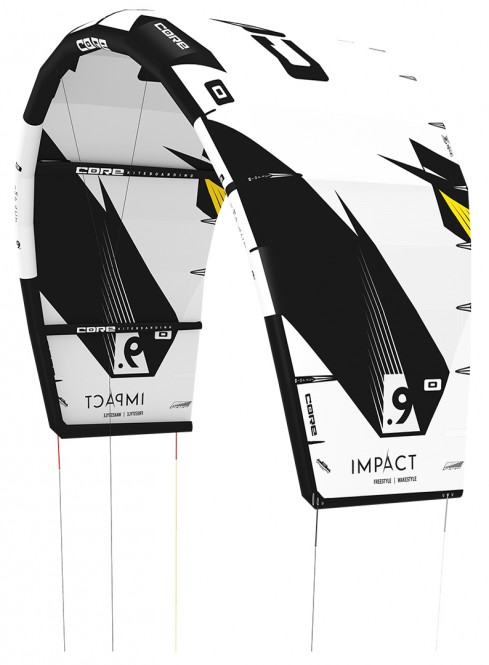 CORE IMPACT Kite white/yellow - 7.0
