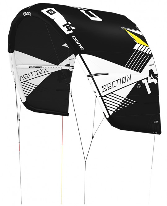 CORE SECTION WAVE LW Kite black/black - 12.0