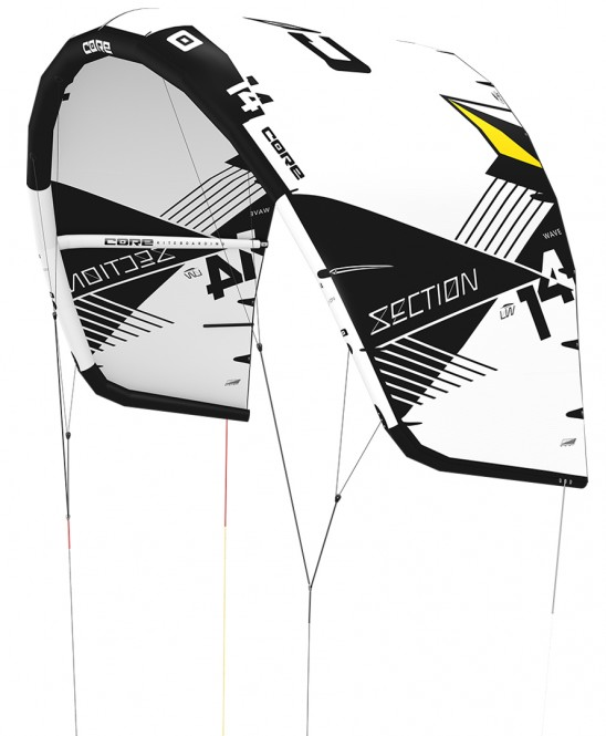 CORE SECTION WAVE LW Kite white/black - 12.0