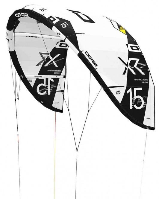 CORE XR5 LW Test-Kite white/black - 19.0