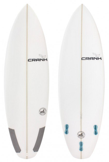 CRANK SURFBOARDS WH1 SWEETWATER EDITION Surfboard m5 - 5,7