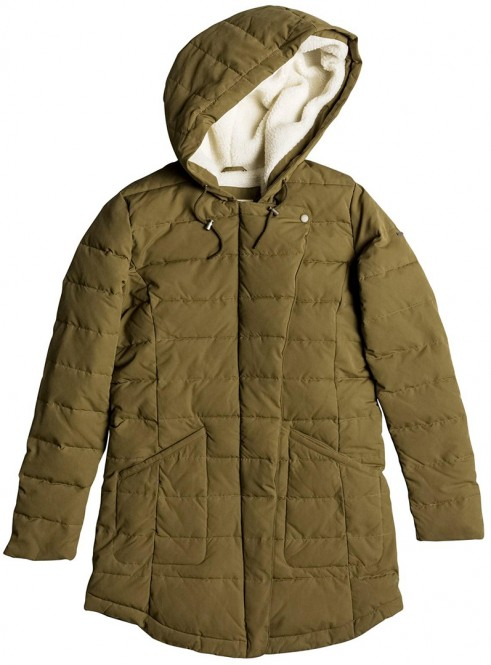 ROXY INDI COAST Jacke 2017 military olive - XL
