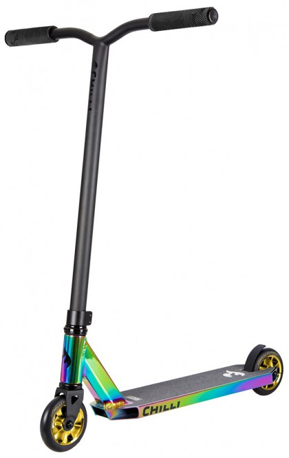 CHILLI PRO SCOOTER ROCKY Scooter - Grind Limited Edition neochrome/gold