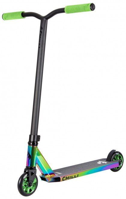 CHILLI PRO SCOOTER ROCKY Scooter Grind Limited Edition neochrome/green