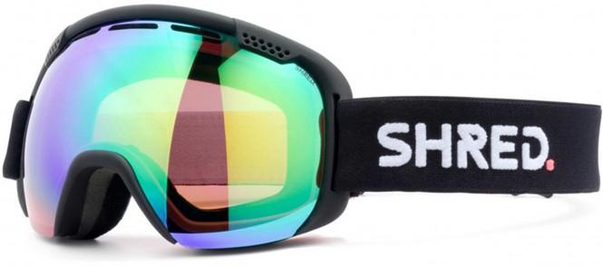 SHRED SMARTEFY Schneebrille 2021 black/cbl plasma mirror