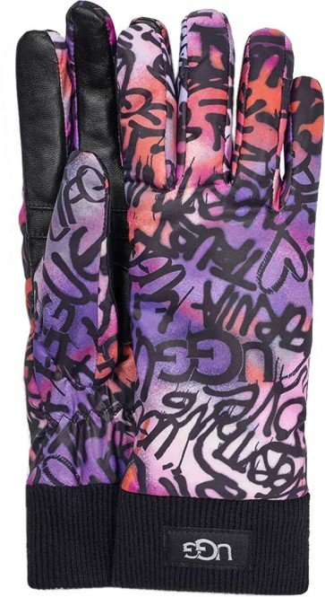 UGG GRAFFITI ALL WEATHER Handschuh 2020 graffiti ugg multi - S/M