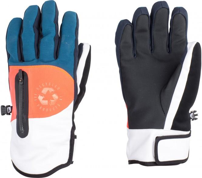 PICTURE KAKISA Handschuh 2018 petrol blue/neon coral - 9