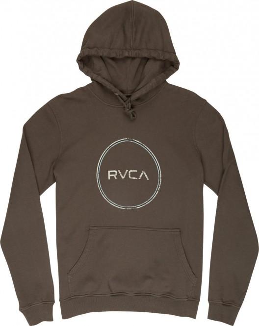 RVCA MOTORS Hoodie 2018 greyskull - L