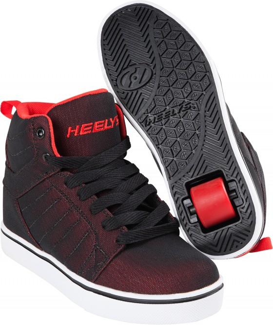 HEELYS UPTOWN Schuh 2018 black/red super mesh - 32