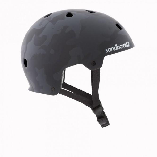 SANDBOX LEGEND LOW RIDER Helm 2019 black camo - S
