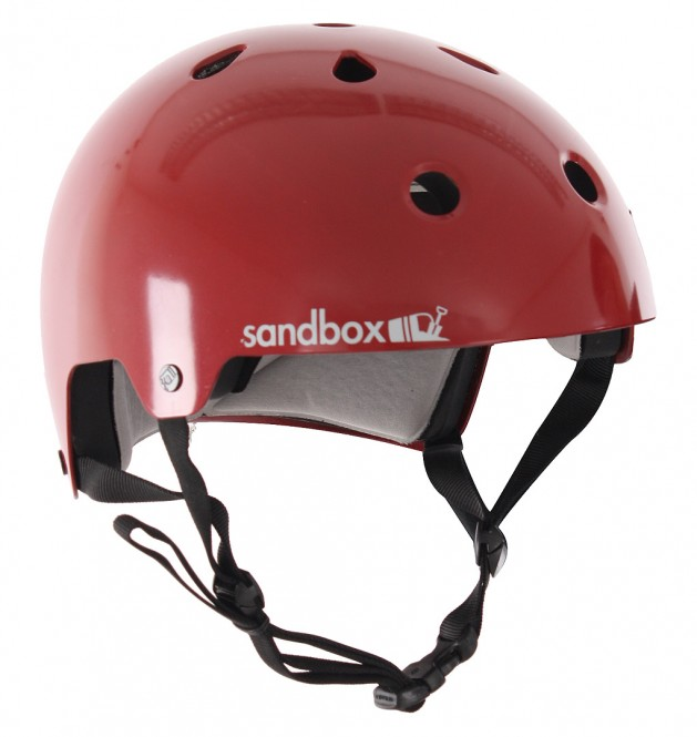 SANDBOX LEGEND LOW RIDER Helm dark red - S