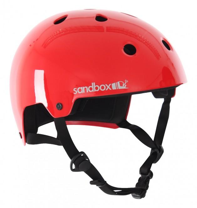 SANDBOX LEGEND LOW RIDER Helm red - S