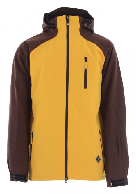 LIGHT SLICE Jacke 2020 mustard/dark brown - XL
