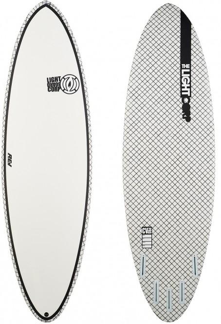 LIGHT MICRO LOG 2.0 CV PRO Surfboard white - 6,8