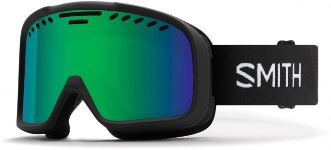 SMITH PROJECT Schneebrille 2020 black/green solex mirror