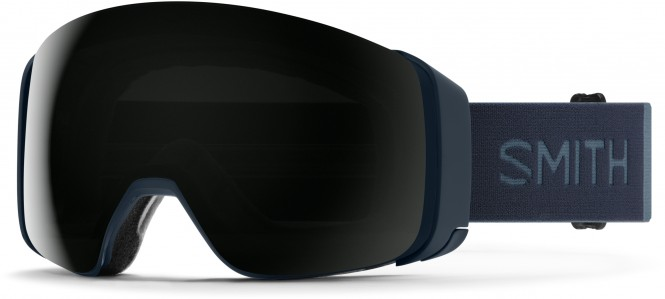 SMITH 4D MAG Schneebrille 2021 french navy/chroma pop sun black