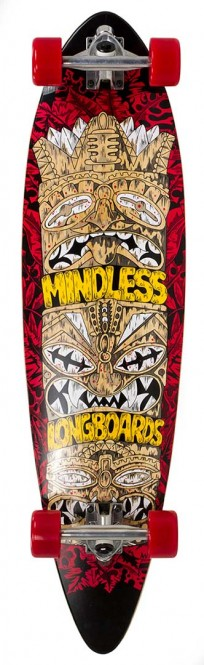 MINDLESS TRIBAL ROGUE IV Longboard 2020 red