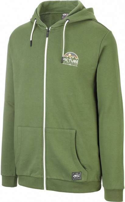PICTURE HAMELTON Zip Hoodie 2021 army green - S