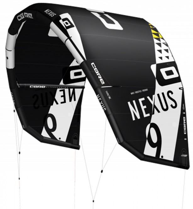 CORE NEXUS Test-Kite black - 6.0