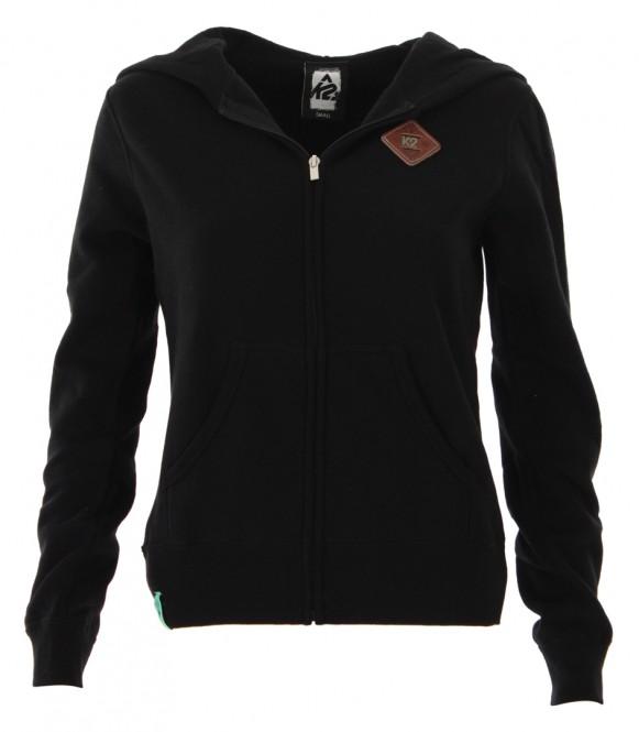 K2 PATCH Zip Hoodie black - L