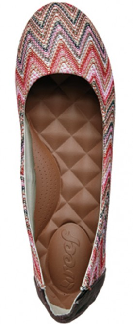 REEF TROPICABANA Schuh 2014 pink zig zag - 41,5
