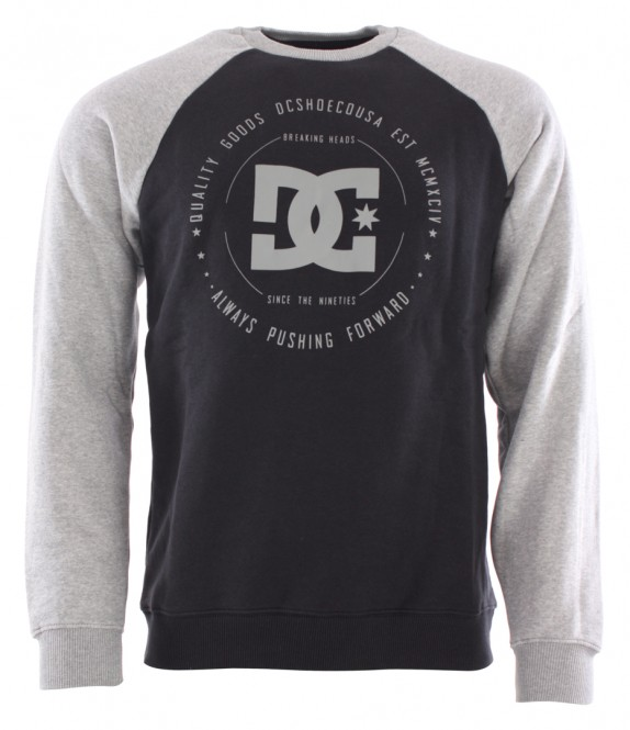 DC REBUILT 2 Sweater 2018 black - S