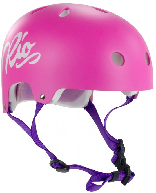 RIO ROLLER RIO ROLLER SCRIPT Helm pink - XXS/XS