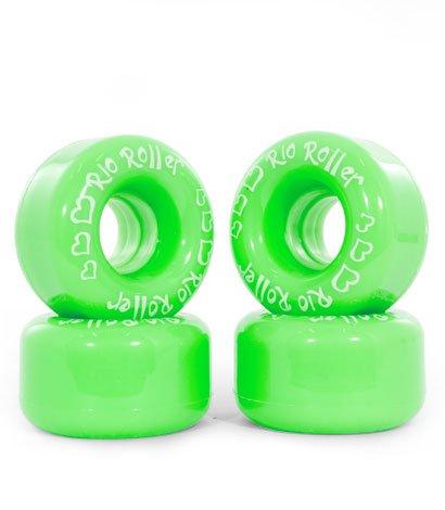 RIO ROLLER COASTER Wheels green - 58mm/82A