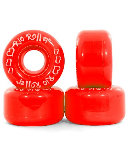 RIO ROLLER COASTER Wheels red - 54mm/82A