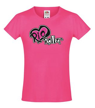 RIO ROLLER RIO ROLLER LOGO T-Shirt pink - M