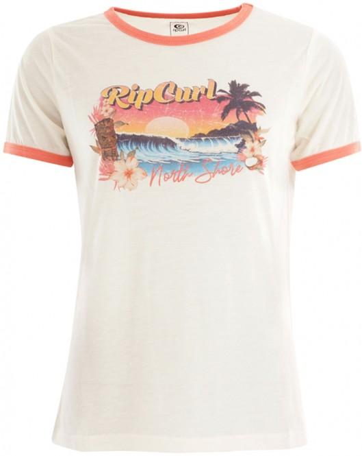 RIP CURL TIKI RINGER T-Shirt 2021 bone - XS