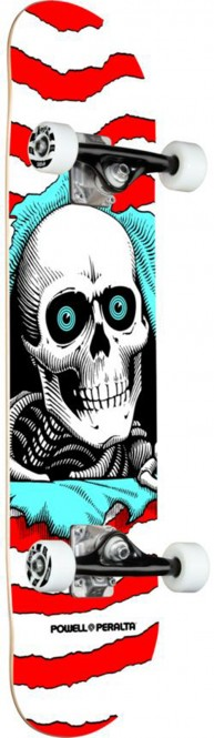 POWELL PERALTA RIPPER Skateboard one-off/red - 8.0x32.125