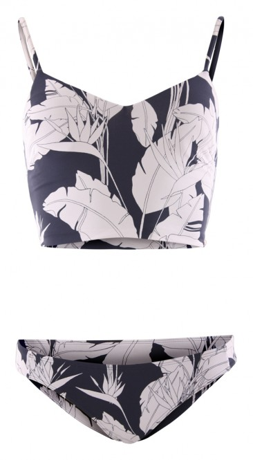 ROXY BEACH CLASSICS TANK Bikini 2020 mood indigo flying flowers - M