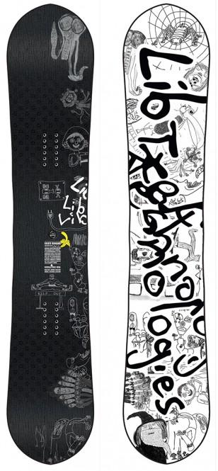LIB TECH SKATE BANANA WIDE Snowboard 2020 reis - 159W