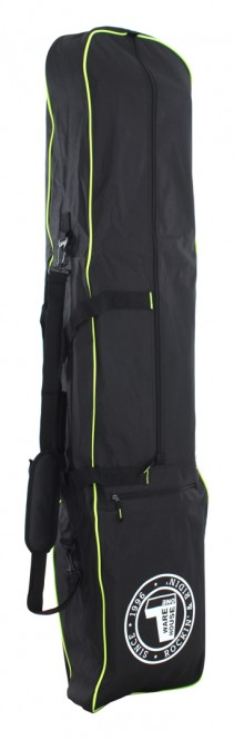 WH1 SINCE 1996 Snowboardbag black/white/green - 160