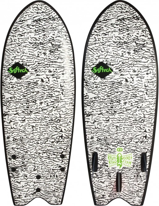 SOFTECH SOFTBOARDS KYUSS FISH Surfboard 2020 - 4,8
