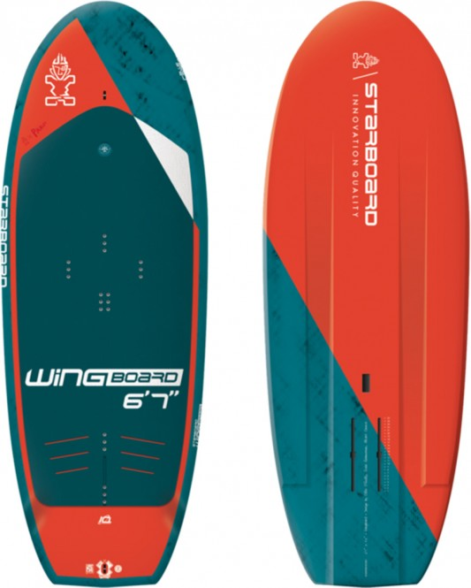 STARBOARD WINGBOARD 2021 blue carbon - 6,7
