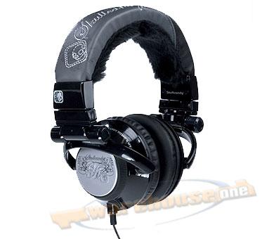 SKULLCANDY T.I. STEREO Headphonesblack/fur