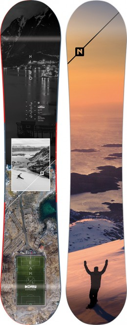 NITRO TEAM EXPOSURE GULLWING Snowboard 2020 - 155