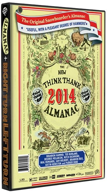 ALMANAC/RIGHT TURN LEFT TURN DVD - Bluray Combo