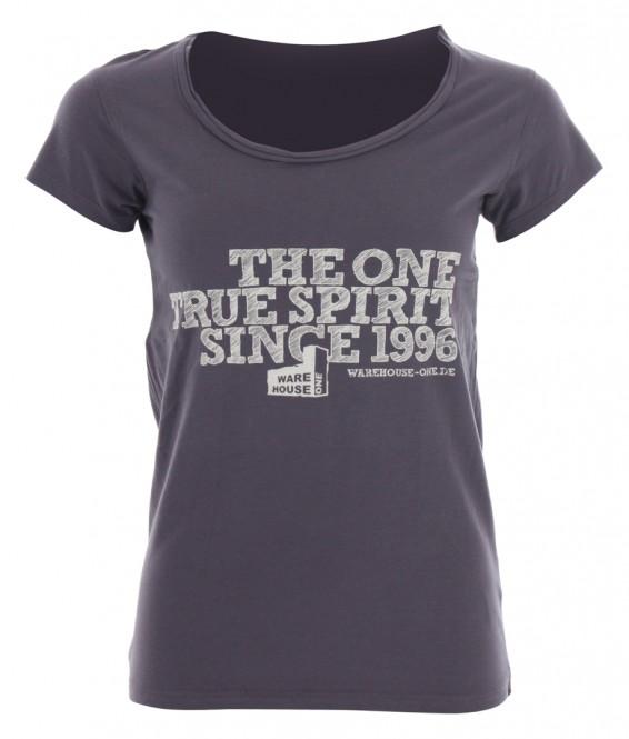 WH1 THE TRUE SPIRIT T-Shirt damson - L