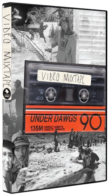 UNDER DAWGS VIDEO MIXTAPE DVD