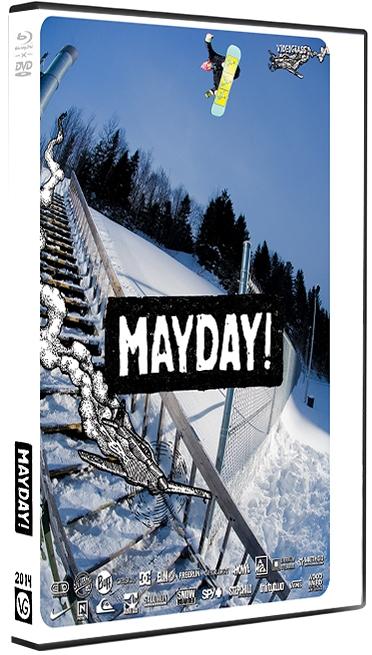 VIDEOGRASS MAYDAY DVD - Bluray Combo