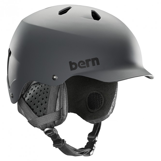 BERN WATTS EPS BOA Helm 2020 grey - S