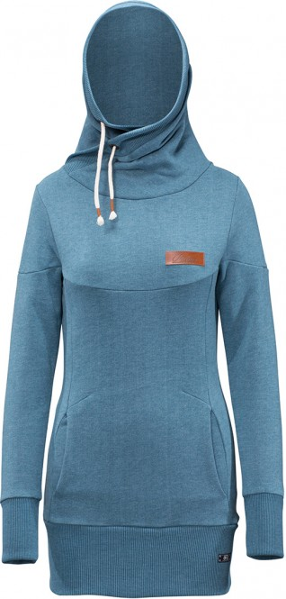 PICTURE THYME Hoodie 2018 petrol blue - XL