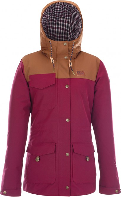 PICTURE KATE Jacke 2018 burgundy - XL
