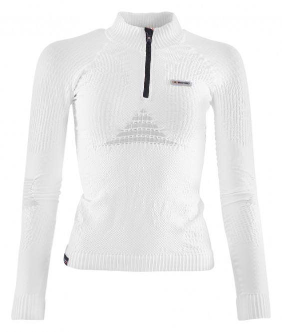 X-BIONIC SKI INSTRUCTOR LIGHT WOMEN Pullover 2018 white/pearl grey - L