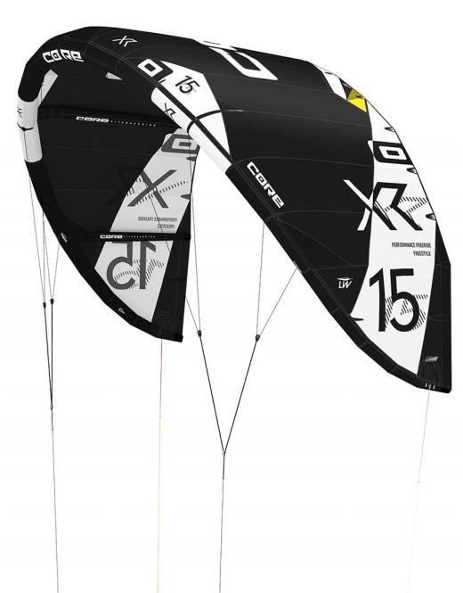 CORE XR5 LW Test-Kite tech black 10 - 19.0